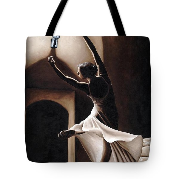 Dance Seclusion Tote Bag by Richard Young