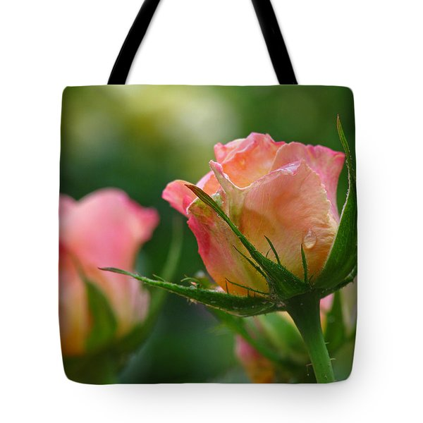 Dance Your Bud Off Tote Bag by Juergen Roth