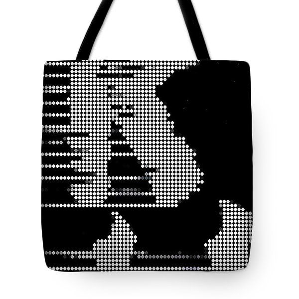 Dancin' Shoes Tote Bag by Paul Van Scott
