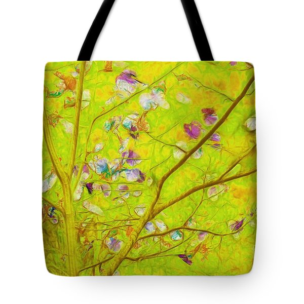 Dancing In The Wind 01 - 343 Tote Bag by Variance Collections