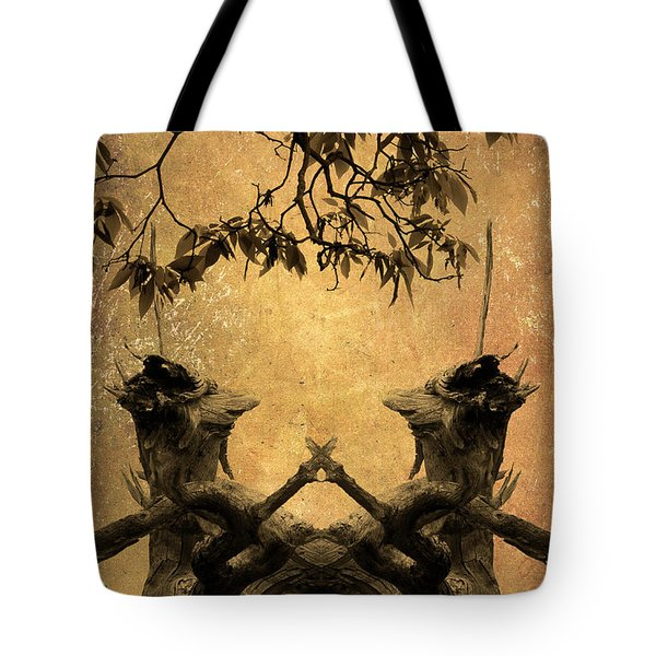 Dancing Trees Tote Bag by Dave Gordon