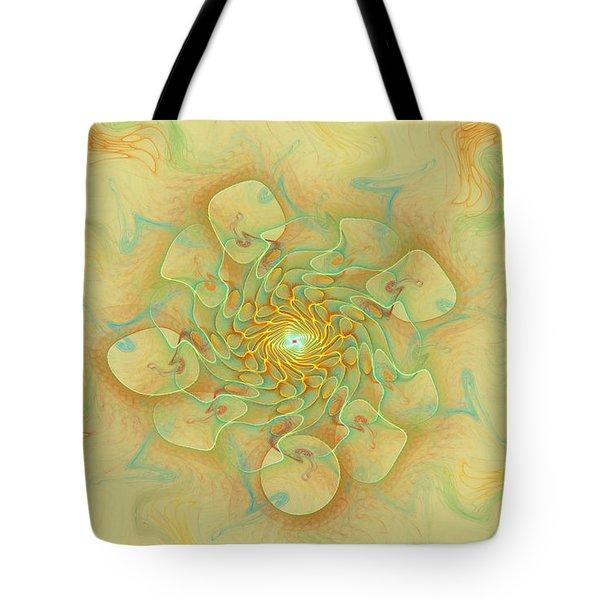 Dancing With The Spirits Tote Bag by Deborah Benoit