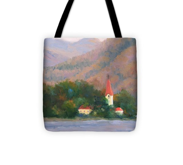 Danube Autumn Tote Bag by Bunny Oliver