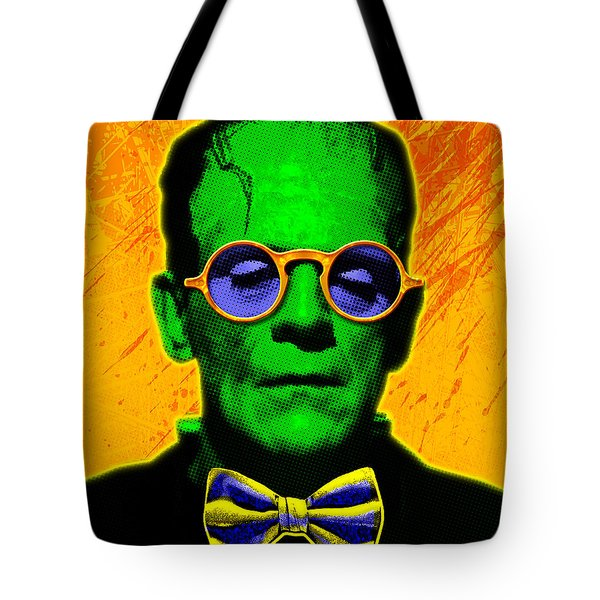 Dapper Monster Tote Bag by Gary Grayson