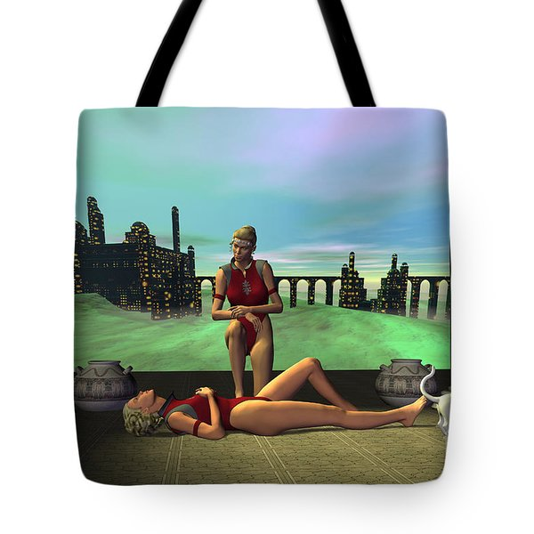 Dark Passion Tote Bag by Corey Ford