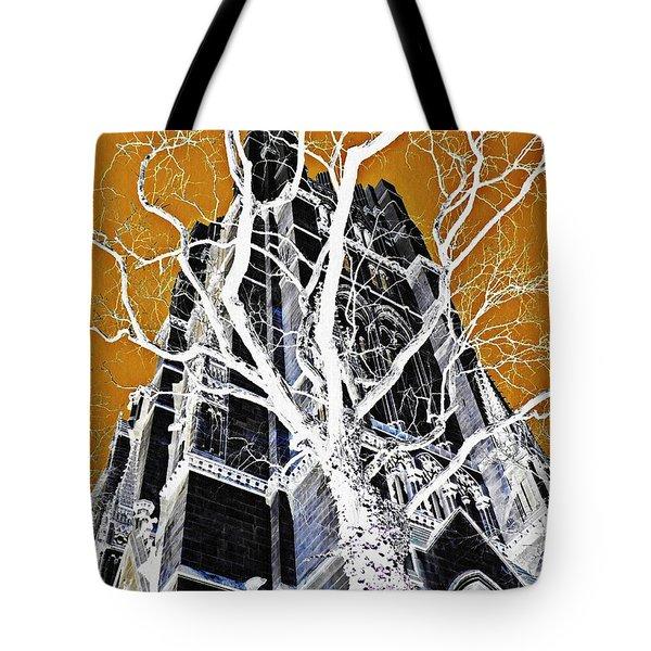 Dark Tower Tote Bag by Sarah Loft