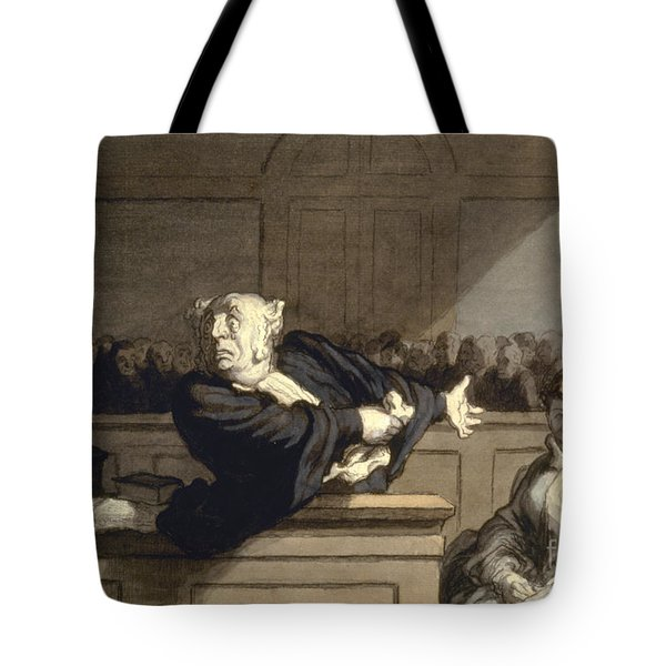 Daumier: Advocate, 1860 Tote Bag by Granger