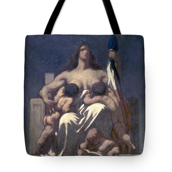 Daumier: Republic, 1848 Tote Bag by Granger
