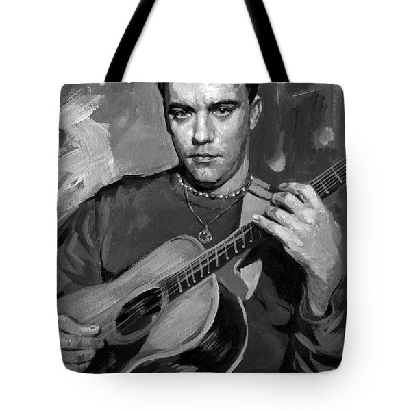 Dave Matthews Tote Bag by Ylli Haruni