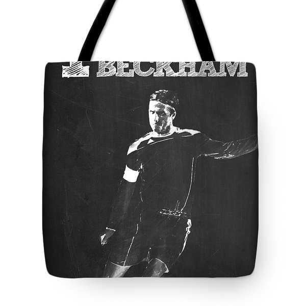 David Beckham Tote Bag by Semih Yurdabak