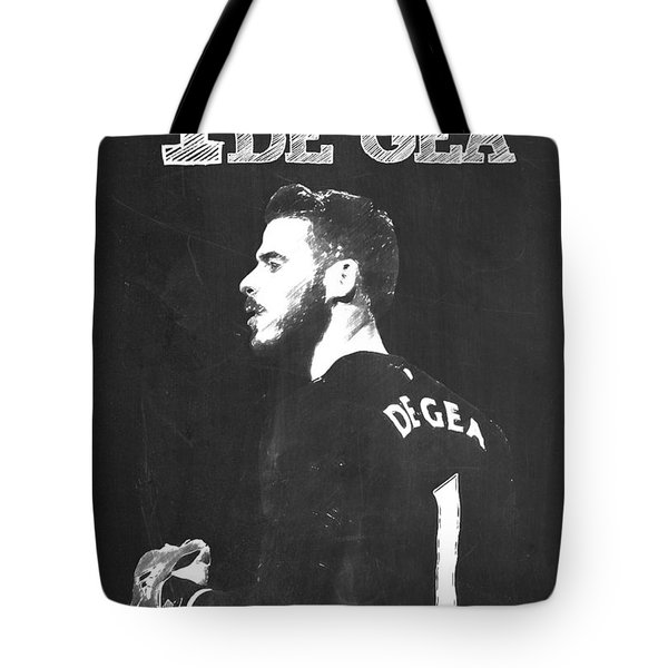 David De Gea Tote Bag by Semih Yurdabak