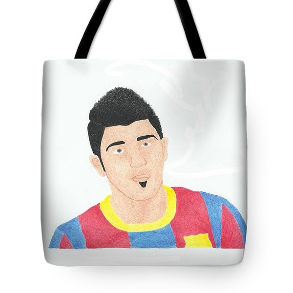 David Villa Tote Bag by Toni Jaso