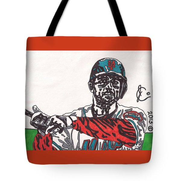 David Wright 2 Tote Bag by Jeremiah Colley