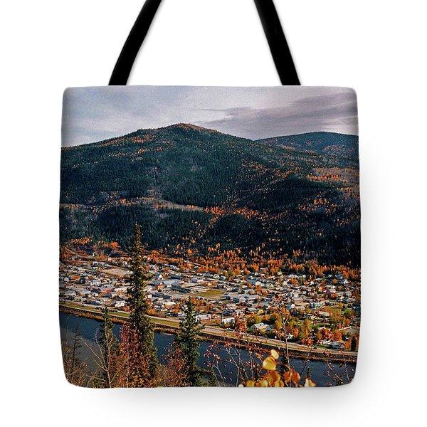 Dawson City - Yukon Tote Bag by Juergen Weiss
