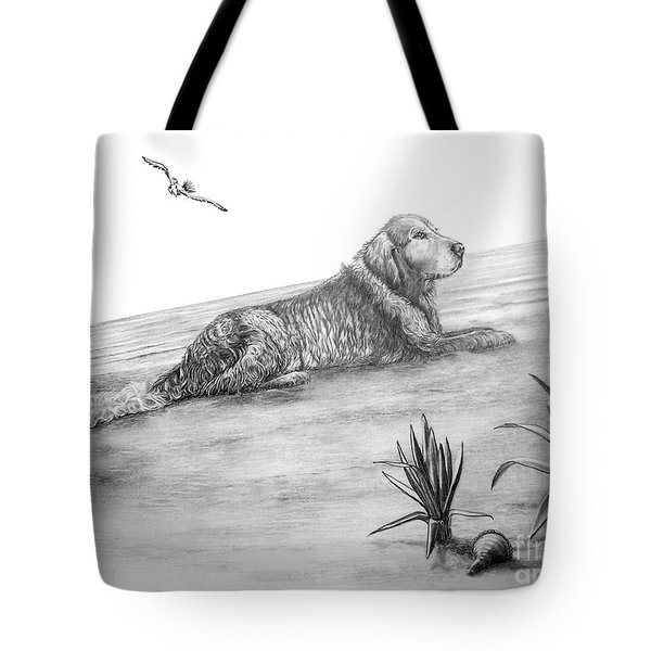 Day At The Beach Tote Bag by Murphy Elliott