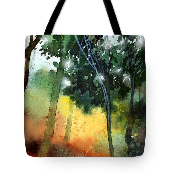 Daybreak Tote Bag by Anil Nene