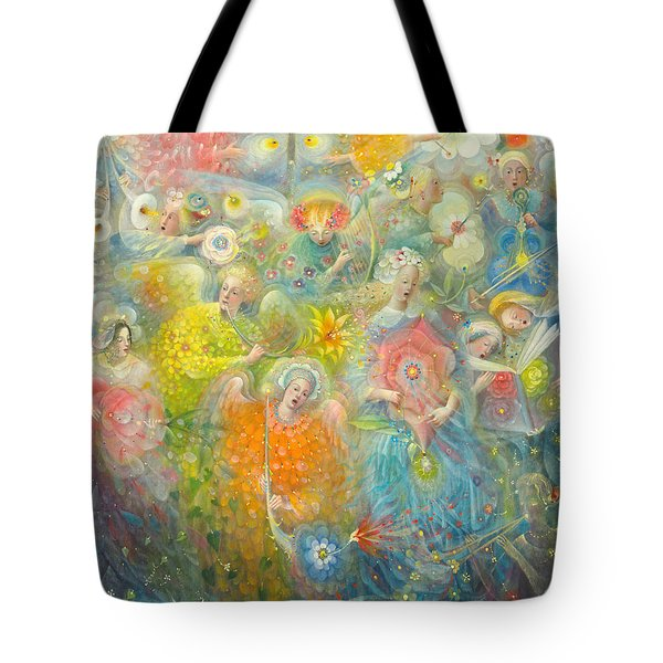 Daydream After The Music Of Max Reger Tote Bag by Annael Anelia Pavlova