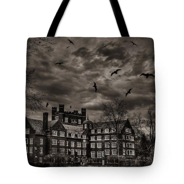 Daydreams Darken Into Nightmares Tote Bag by Evelina Kremsdorf