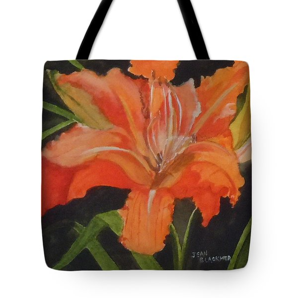 Daylily Study IIi Tote Bag by Jean Blackmer