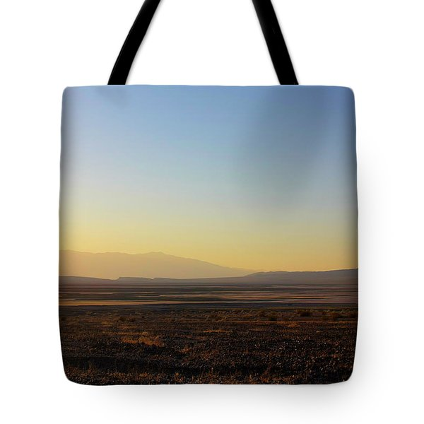 Death Valley -  A Beautiful But Dangerous Place Tote Bag by Christine Till