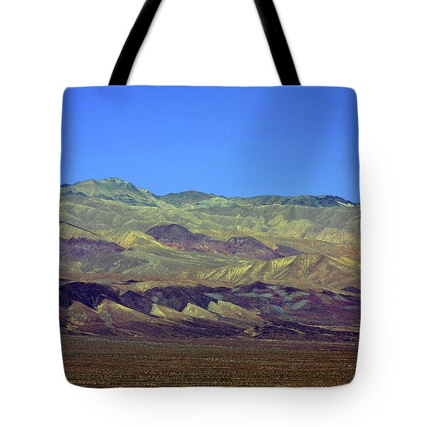 Death Valley - Land Of Extremes Tote Bag by Christine Till