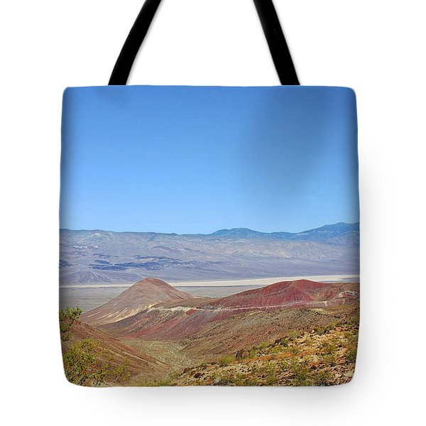 Death Valley National Park - Eastern California Tote Bag by Christine Till