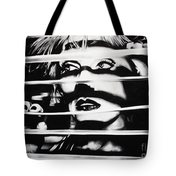 Deborah Harry Tote Bag by Brian Curran