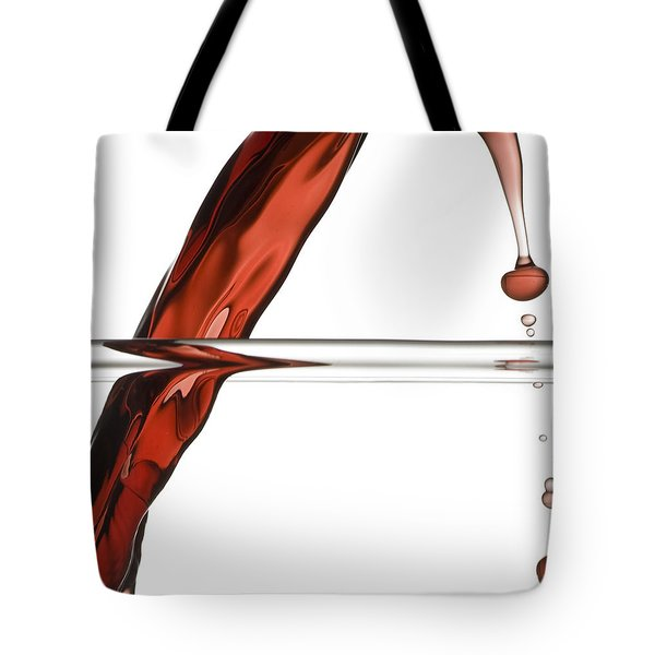 Decanting Wine Tote Bag by Frank Tschakert