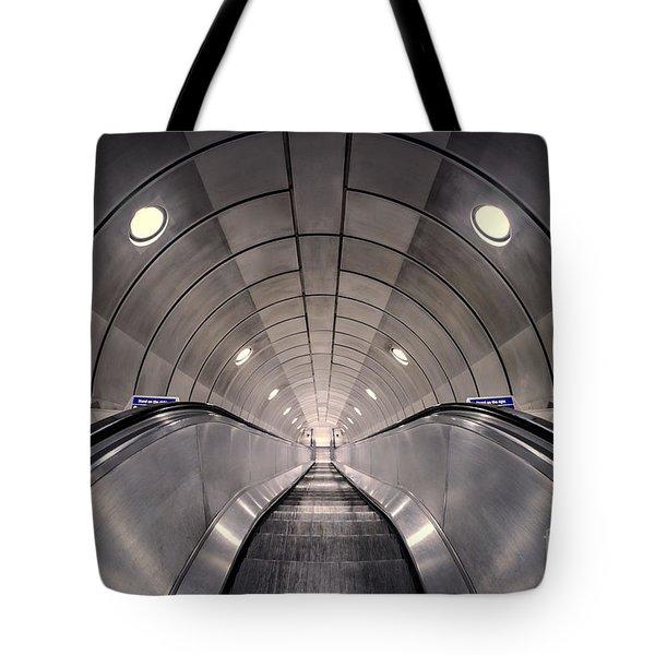 Deep Down Below Tote Bag by Evelina Kremsdorf