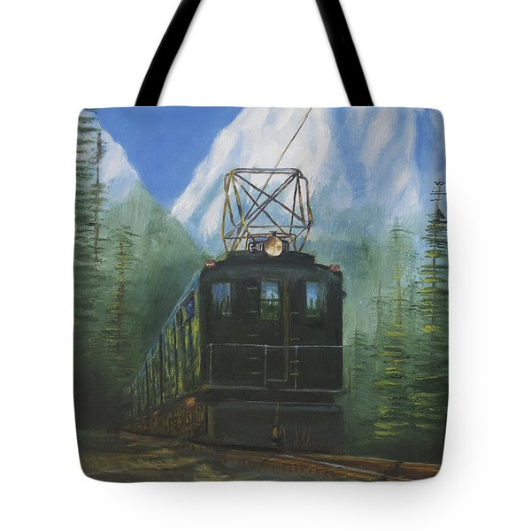 Deep In The Cascades Tote Bag by Christopher Jenkins