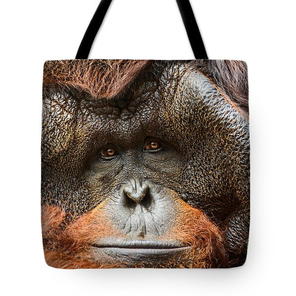 Deep In Thought Tote Bag by Jamie Pham