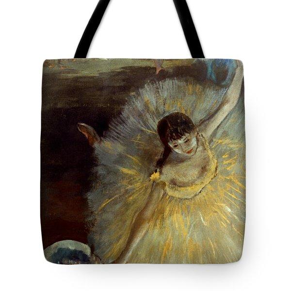 Degas: Arabesque, 1876-77 Tote Bag by Granger