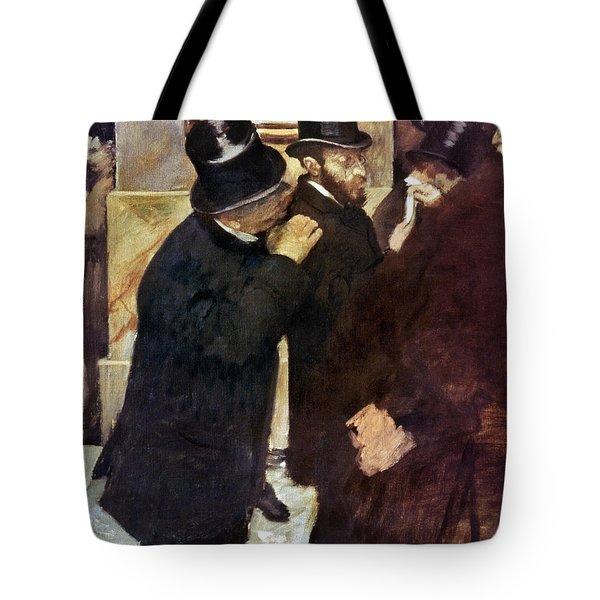 Degas: Stock Exchange Tote Bag by Granger