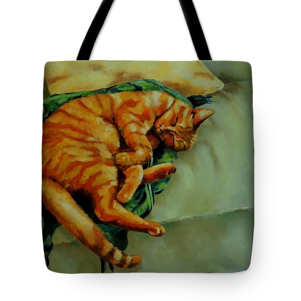 Delicious Sleep Tote Bag by Jolante Hesse