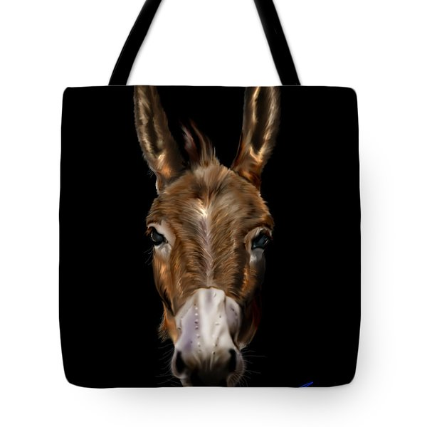 Dem-donkey Tote Bag by Reggie Duffie