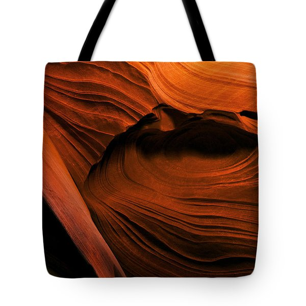 Desert Carvings Tote Bag by Mike  Dawson