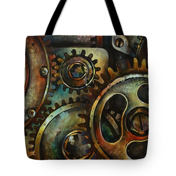 Design 2 Tote Bag by Michael Lang