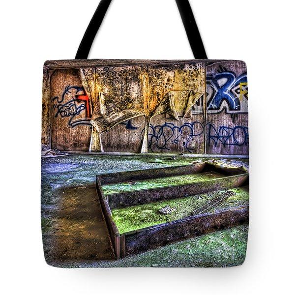 Destroya Tote Bag by Evelina Kremsdorf