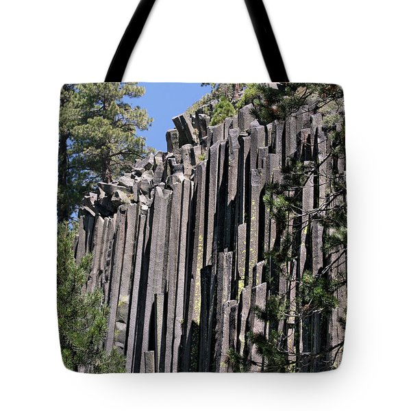 Devils Postpile National Monument - Mammoth Lakes - East California Tote Bag by Christine Till