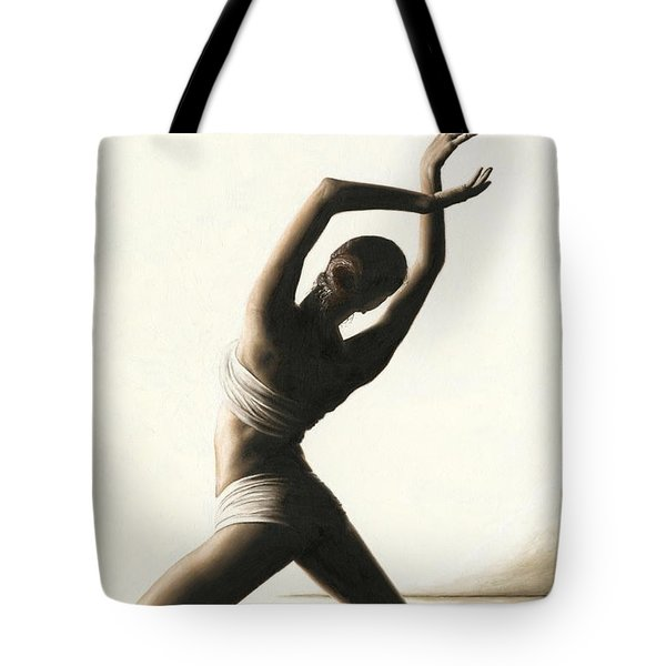 Devotion to Dance Tote Bag by Richard Young