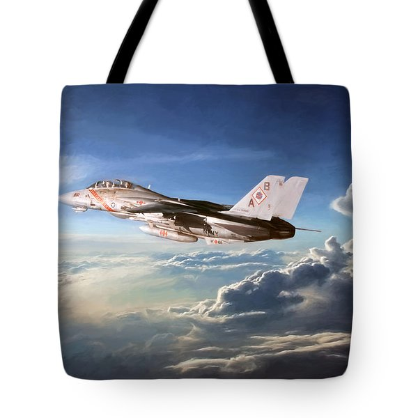 Diamonds In The Sky Tote Bag by Peter Chilelli
