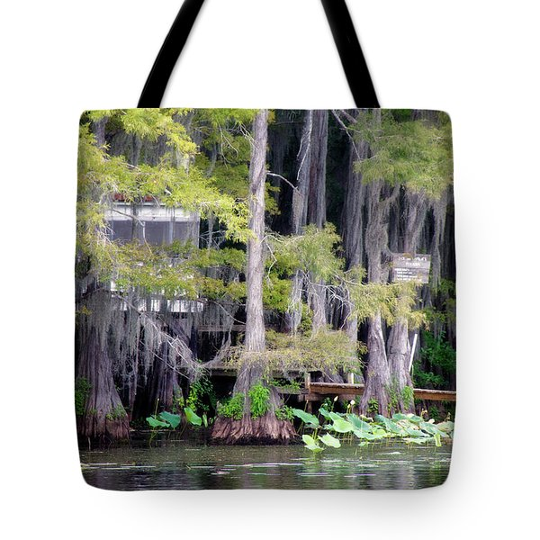 Dick And Charlies Tea Room Tote Bag by Lana Trussell