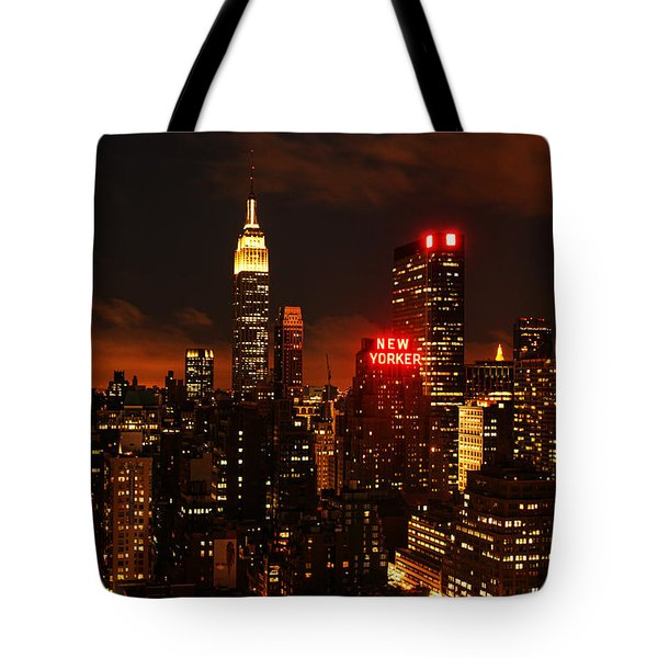 Digital Sunset Tote Bag by Andrew Paranavitana