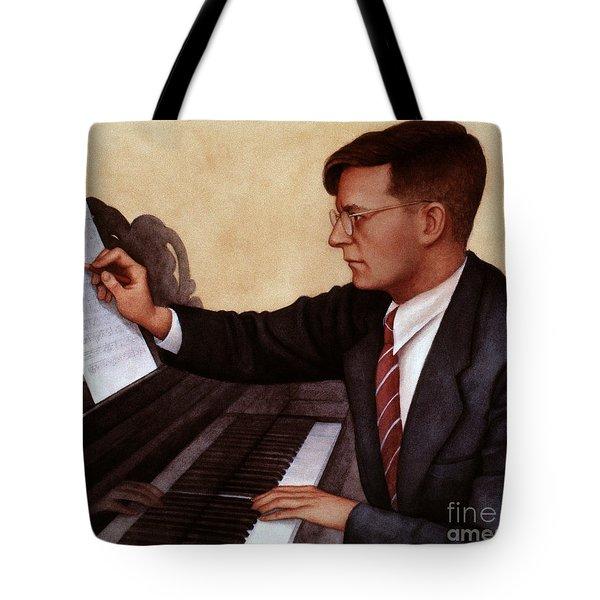 Dimitri Shostakovich Tote Bag by Granger