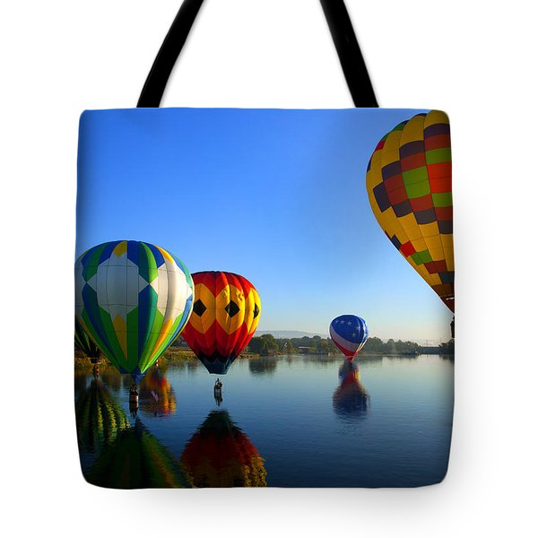 Dip And Go Tote Bag by Mike  Dawson
