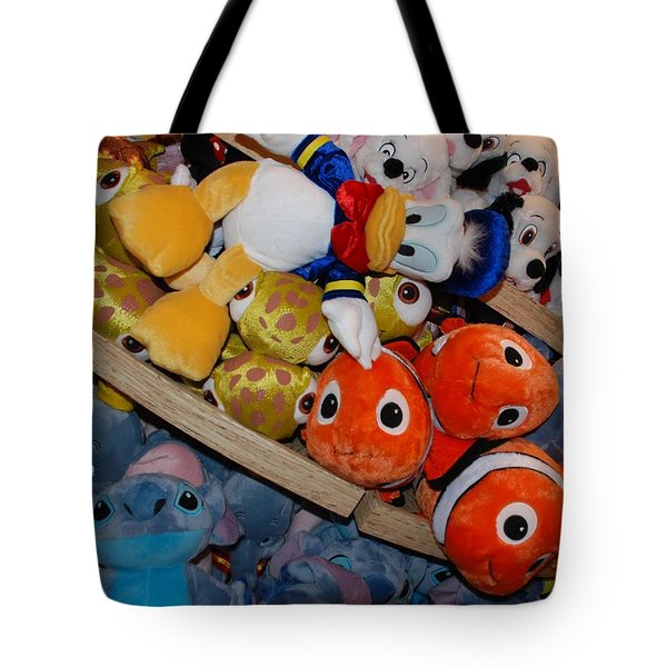 Disney Animals Tote Bag by Rob Hans