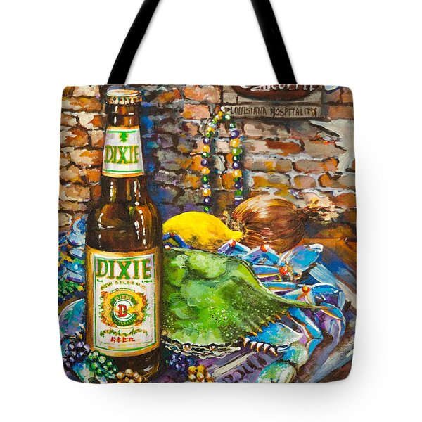 Dixie Love Tote Bag by Dianne Parks