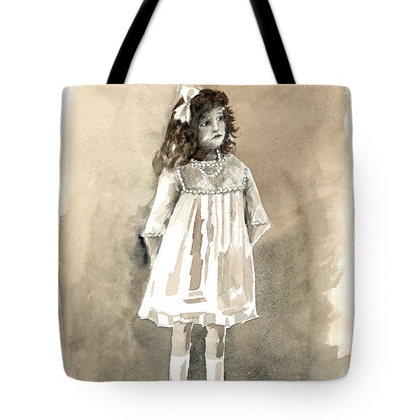Do I Have To Wear A Dress Tote Bag by Arline Wagner