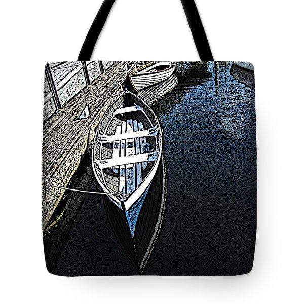 Dockside Quietude Tote Bag by Tim Allen