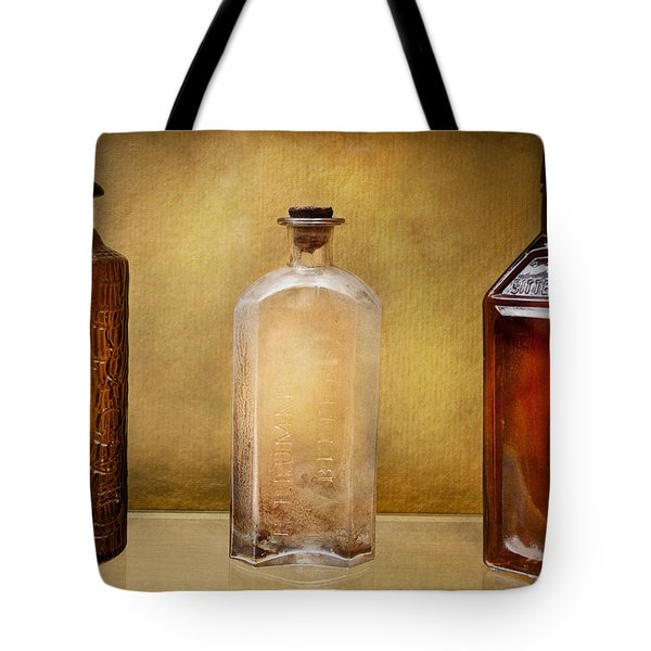 Doctor - Bitters Tote Bag by Mike Savad